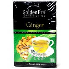 Чай Golden Era Зелёный Ginger 100g