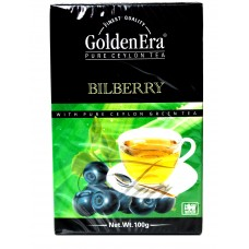 Чай Golden Era Зелёный Bilberry 100g