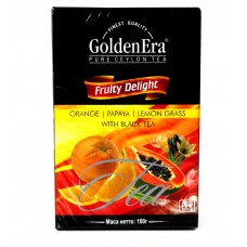 Чай Golden Era Чёрный Fruity Delight 100g