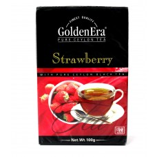 Чай Golden Era Чёрный Strawberry 100g