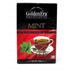 Чай Golden Era Чёрный Mint 100g