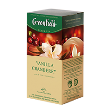 Чай Greenfield Vanilla Cranberry 25пак