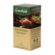 Чай Greenfield Strawberry Gourmet 25пак