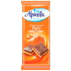 Шоколад Alpinella Тоффи 100g