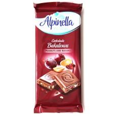 Шоколад Alpinella Изюм и Орехи 100g