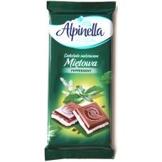 Шоколад Alpinella Мята 100g