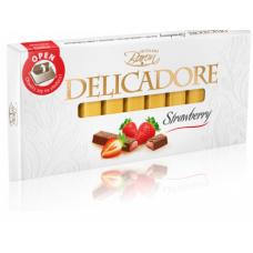 Шоколад порционный Baron Delicadore Клубника 200g