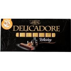 Шоколад порционный Baron Delicadore Виски 200g