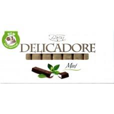 Шоколад порционный Baron Delicadore Мята 200g