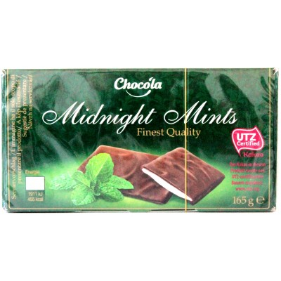 Шоколад Chocola Midnight Mint 200g