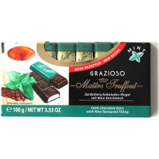 Шоколад Grazioso Мята 100g