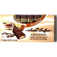 Шоколад Grazioso Тирамису 100g