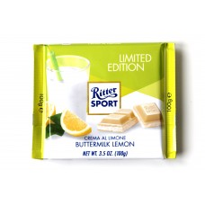 Шоколад Ritter Sport лимонный крем 100g