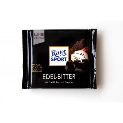 Шоколад Ritter Sport горький (73% какао) 100g