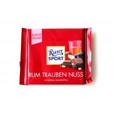 Шоколад Ritter Sport ром, изюм и орехи 100g