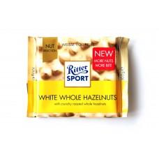 Шоколад Ritter Sport белый с целыми орехами 100g