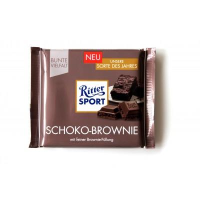 Шоколад Ritter Sport брауни 100g