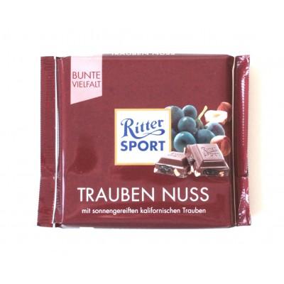 Шоколад Ritter Sport изюм и орехи 100g