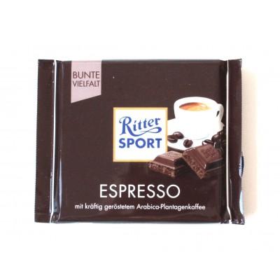 Шоколад Ritter Sport эспрессо 100g