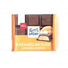 Шоколад Ritter Sport карамельный мус 100g