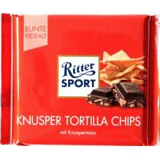 Шоколад Ritter Sport кукурузные чипсы 100g