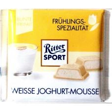 Шоколад Ritter Sport йогуртовый мус 100g