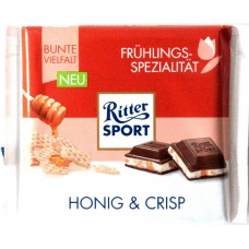 Шоколад Ritter Sport мёд и хлопья 100g