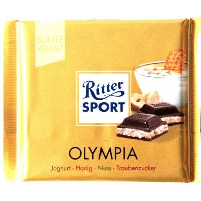Шоколад Ritter Sport олимпия 100g