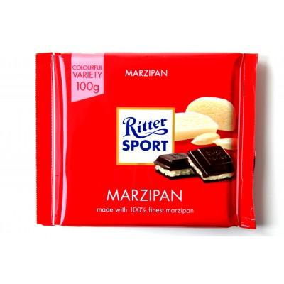 Шоколад Ritter Sport марципан 100g