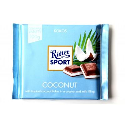 Шоколад Ritter Sport кокос 100g