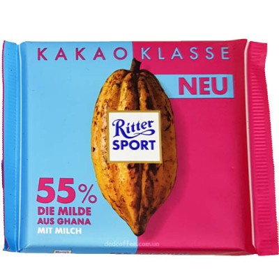 Шоколад Ritter Sport Какао 55% 100g