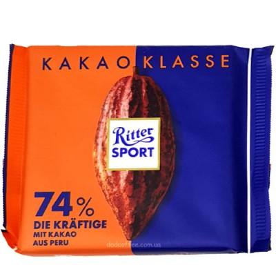 Шоколад Ritter Sport Какао 74% 100g