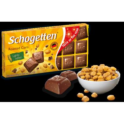 Шоколад Schogetten Roasted Corn 100g