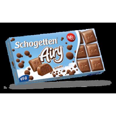 Шоколад Schogetten Airy Молочный 95g