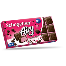 Шоколад Schogetten Airy Клубника 95g
