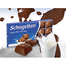 Шоколад Schogetten Alpine Milk Chocolate 100g