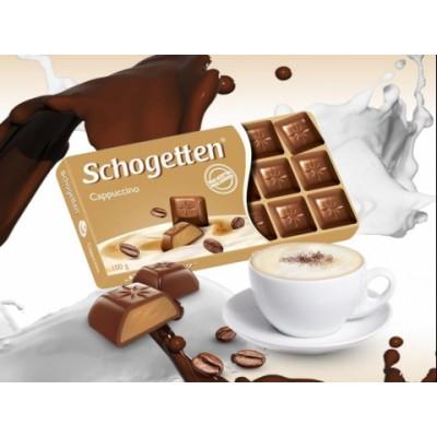 Шоколад Schogetten Cappuccino 100g