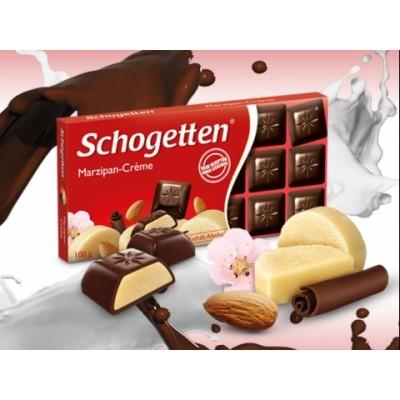 Шоколад Schogetten Marzipan Cream 100g