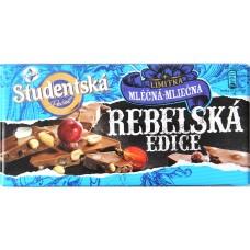 Шоколад Studentska Rebelska Молочный Изюм/Орех 180g