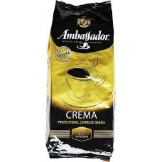 Кофе в зернах Ambassador Crema 1kg