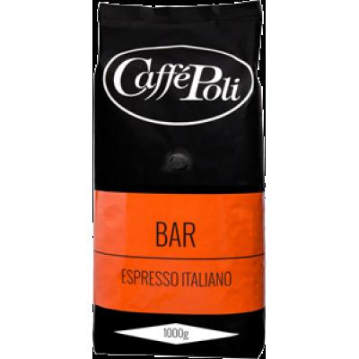 Кофе в зернах Caffe Poli Bar 1kg