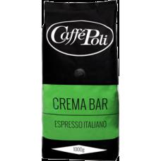 Кофе в зернах Caffe Poli Crema Bar 1kg