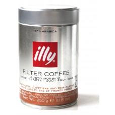 Кофе молотый ILLY Filter Coffee 250g Банка