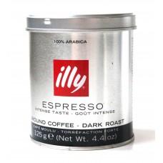 Кофе молотый ILLY Espresso Intense Taste 125g Банка