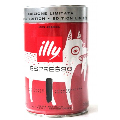 Кофе молотый ILLY Espresso Dark Roast 250g Банка