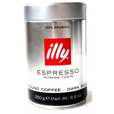 Кофе молотый ILLY Espresso Intense Taste 250g Банка