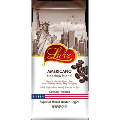 Кофе в зернах Lu've Americano Freedom Blend 1kg