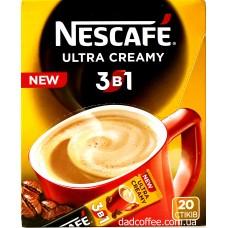 Кофе Nescafe 3в1 Ultra Creamy