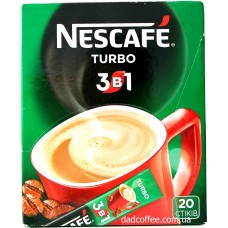 Кофе Nescafe 3в1 Turbo