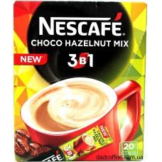 Кофе Nescafe 3в1 Choco Hazelnut Mix